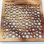 Laser Cut Wood Veneer MDF 2