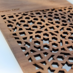 Laser Cut Wood Veneer MD 3