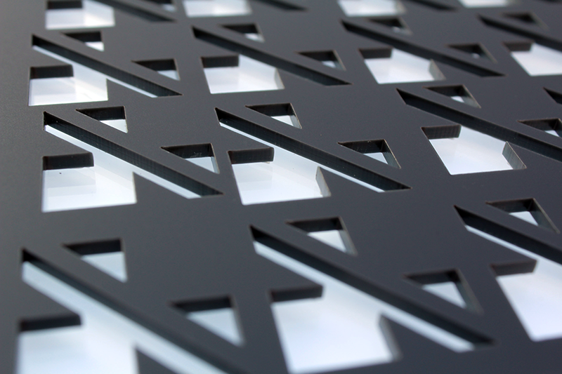 Laser Cut Perspex